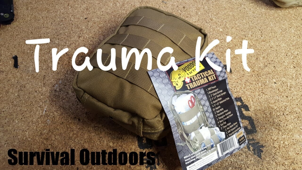 Voodoo Tactical Trauma Kit Review