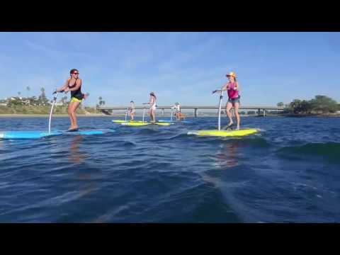 Leg Powered Paddle Boards | Hobie Mirage Eclipse