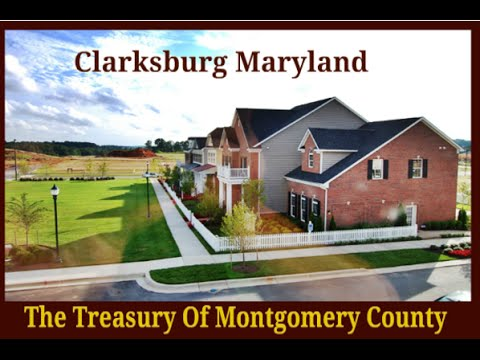 Driving Around Clarksburg Village in Clarksburg MD