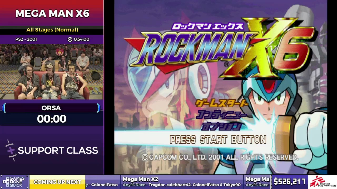 Mega man x6 by orsa in 52 39 sgdq2017 part 73