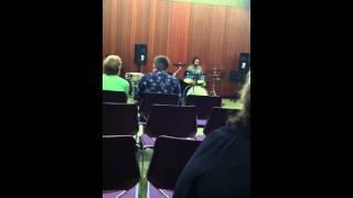Luke Appleton-Webster drum set piece (June 2012)
