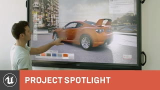 Toyota Showroom 360 Experience by Rotor Studios | Project Spotlight | Unreal Engine