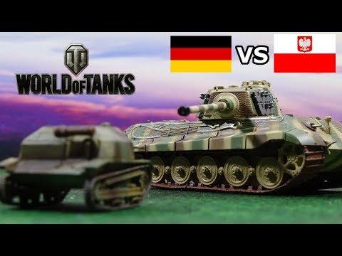 Polish vs German Tanks - World of Tanks