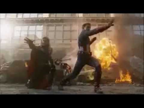 avengers assemble song . Screen team show (one direction parody)