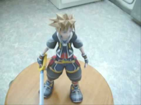 Kingdom Hearts 2 Sora Papercraft Model Youtube