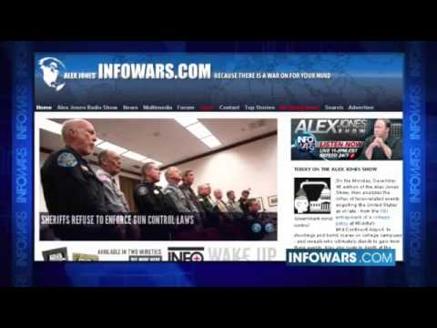 Alex Jones Talks About A Global Continental Congress