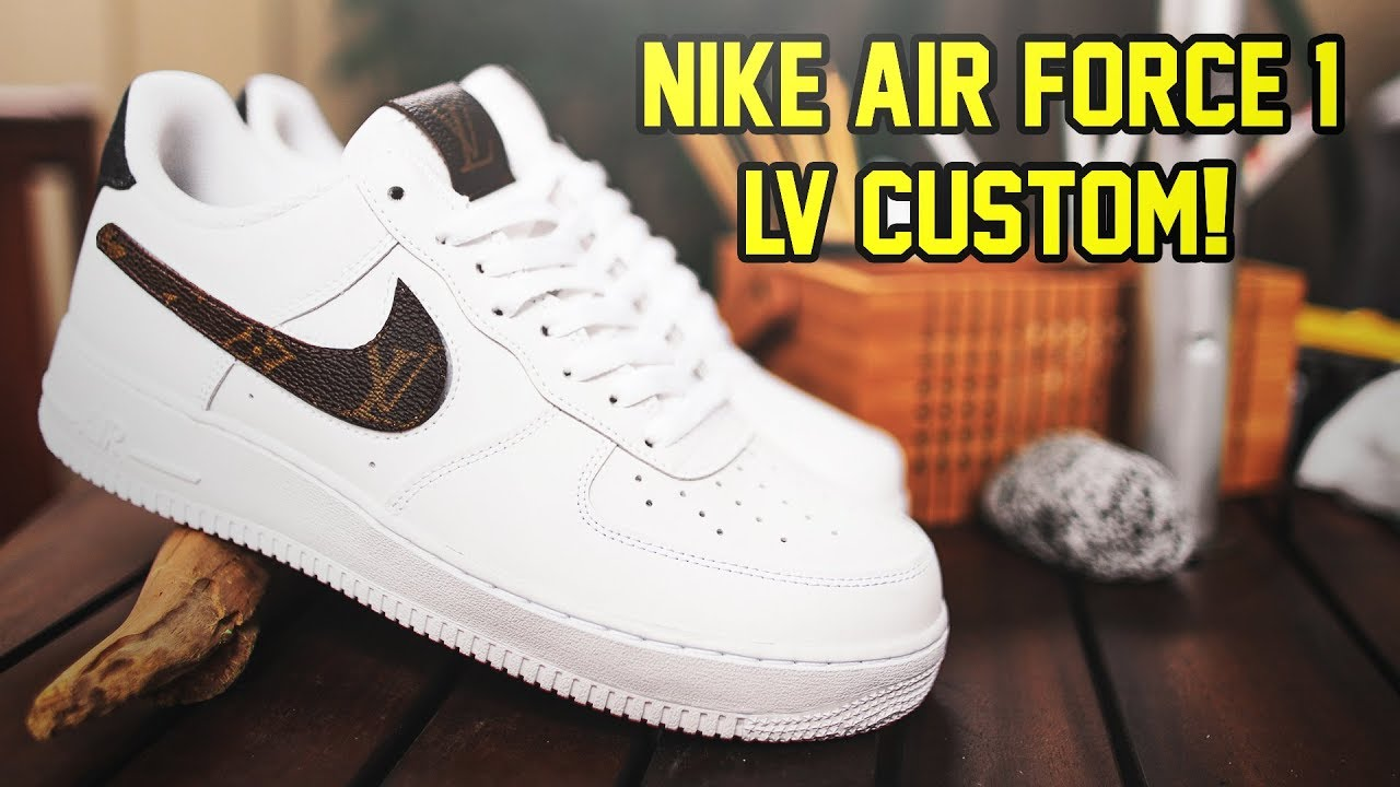 Custom Designer Nike Air Force 1 Timelapse Youtube