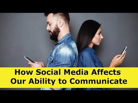 How Social Media And Texting Affects Our Ability To Communicate
