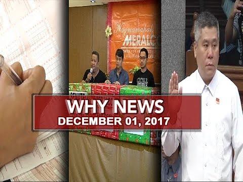 UNTV: Why News (December 01, 2017)