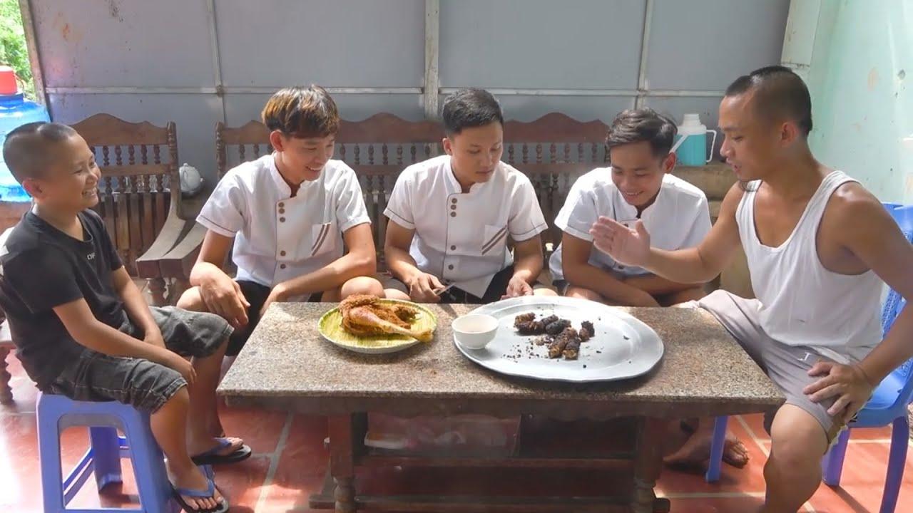 Cuộc Thi Nấu Ăn Độc Lạ Của Hai Đầu Bếp Mao Đệ Đệ Và Mao Đại Ca