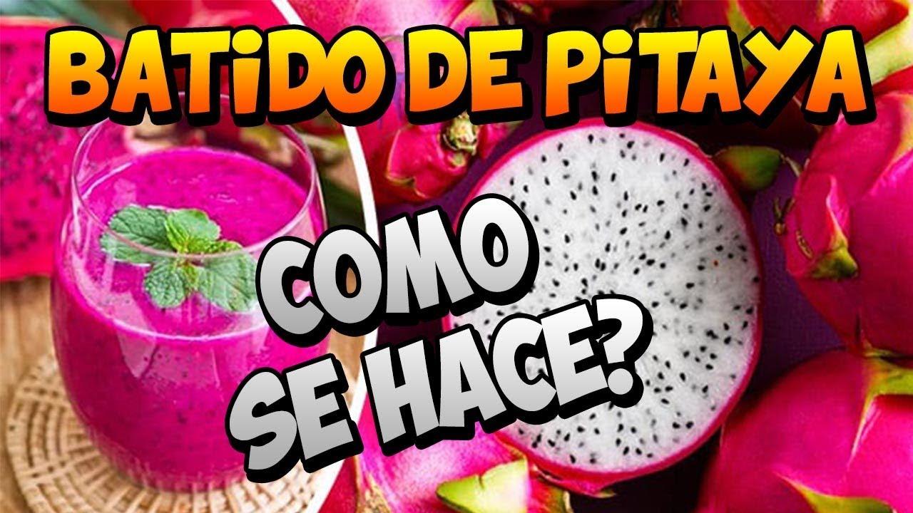 Pitahaya amarilla como se come