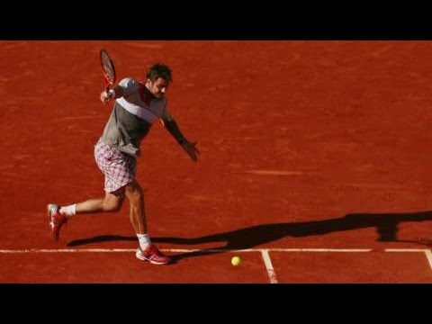 "Tennis brutality - 50 ""hyper speed"" backhand winners - Nadal, Federer, Wawrinka, Gasquet and more"