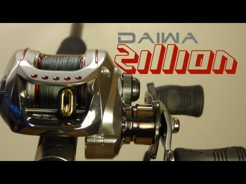 Team Daiwa Zillion 100SHLA 7.1:1 bait cast reel