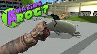 Amazing Frog ? # 12 - Riesen Schwein geritten