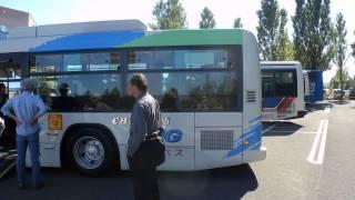 北海道中央バス・CNGノンステップバス
