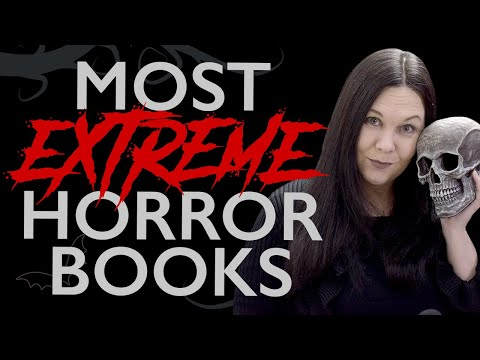 TOP 5 Horror Books • Most Extreme • Intense Splatter Book Recommendations