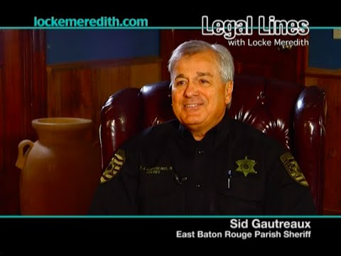LOCKE MEREDITH & Sheriff Gautreaux On: Crime, Community Police Force & Help