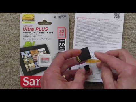 Sandisk 32GB Ultra Micro SDHC UHS -1 Class 10 Card With Adapterиз YouTube · Длительность: 5 мин24 с
