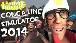 TF2: CONGA LINE SIMULATOR 2014
