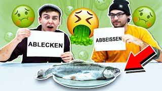 ABLECKEN oder ABBEISSEN - Extreme Challenge!