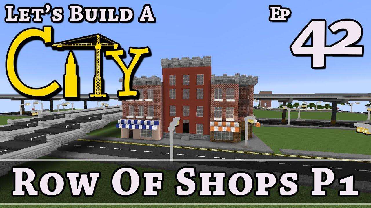 how to make a city minecraft