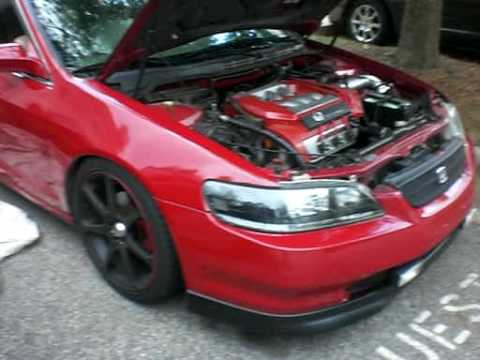 1998 Honda Accord V6 With Open Headers