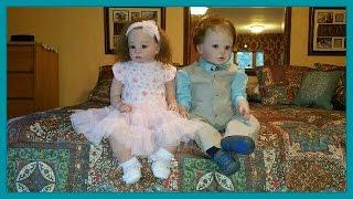 Reborn Toddler Dolls Dressing for Easter! Peekaboo-Timeout #114