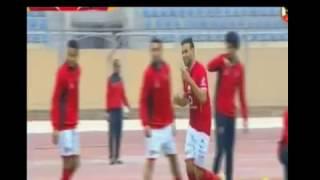 ميدو جابر يحرز الهدف الثاني للأهلي في ودية بلدية الإسماعيلية