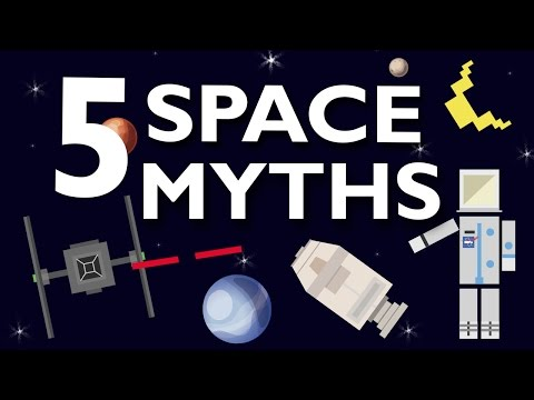 5 SPACE MYTHS DEBUNKED!