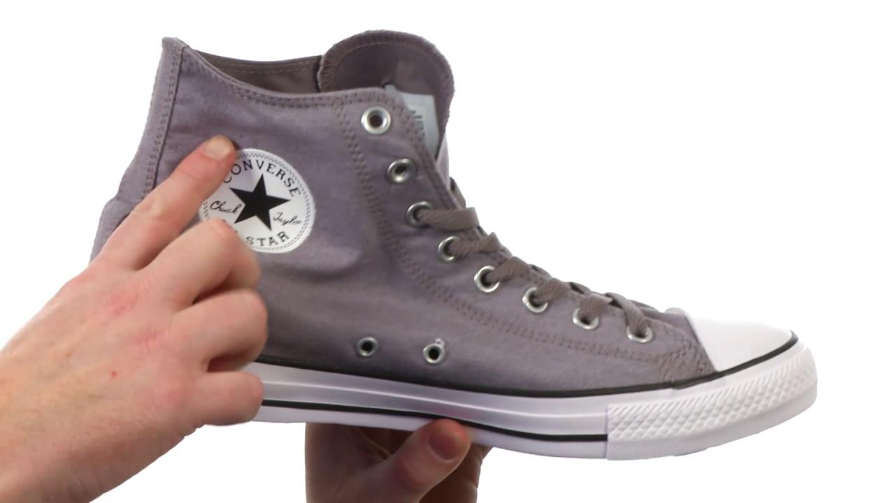 Converse Chuck Taylor® All Star® Washed Chambray Hi SKU:8809691