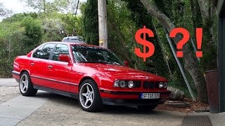 bmw e34 535i cost of ownership