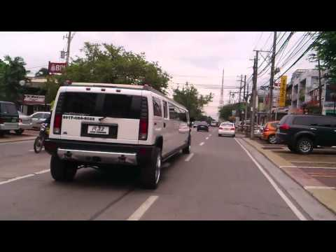 "Chasing ""Hummer Limo Type"" at morato-timog ave."