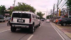 """Chasing """"Hummer Limo Type"""" at morato-timog ave."""