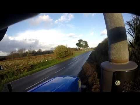 New-Holland T6030 sound - GoPro