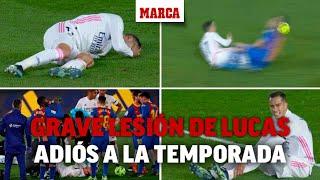 Lucas Vázquez dice adiós a la temporada: lesión en el ligamento cruzado I MARCA