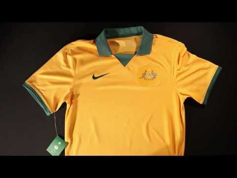 Nike Australia 2014 Home World Cup Jersey - Unboxing