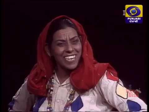 NIRMAL RISHI SKIT ON DD PUNJABI TV CHANEL [HATHUR]