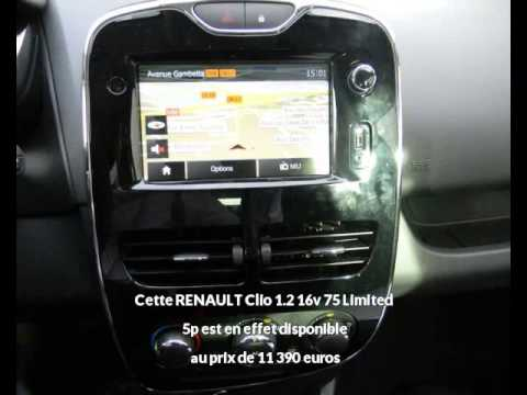 renault clio 1 2 16v 75 limited 5p albi une occasion autotransac youtube. Black Bedroom Furniture Sets. Home Design Ideas