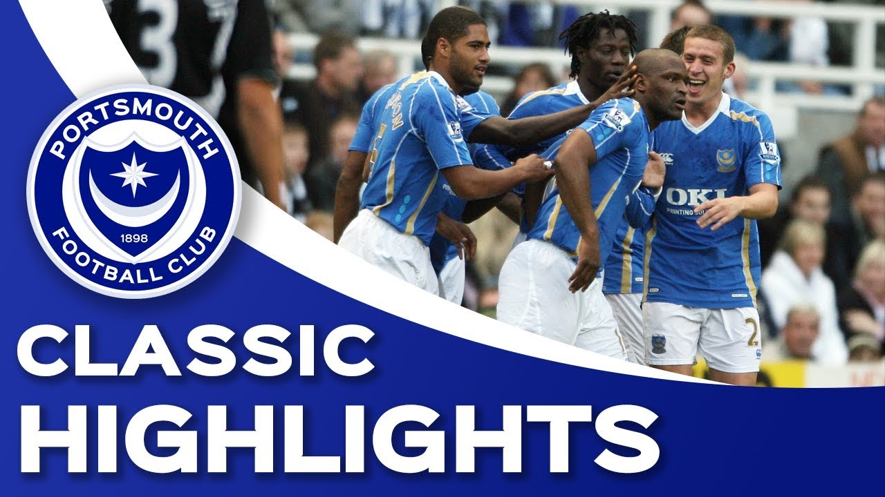 Classic Highlights: Newcastle United 1-4 Portsmouth