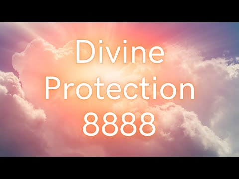 Divine Protection - 8888 - Grabovoi Numbers