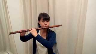笛子で「里の秋」 by 黄恬