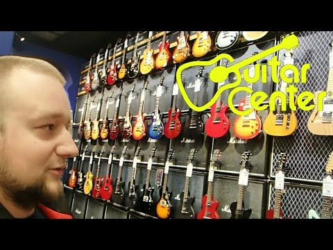 Guitar Center. Музыкальный магазин в Америке