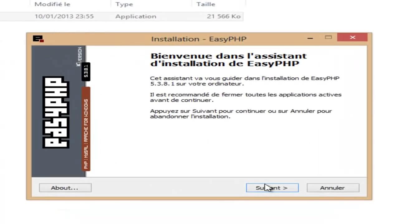 easyphp 14.1 vc9 gratuit