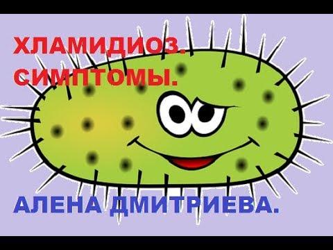 Хламидиоз. Симптомы заболевания. Алена Дмитриева.