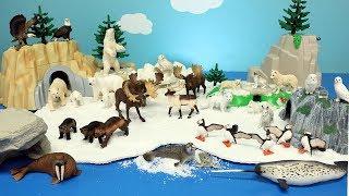 Polar and Arctic Toy Animals