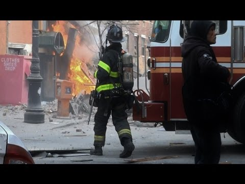 Gas Explosion Hits East Harlem New York 1