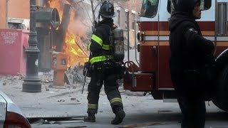 Gas Explosion Hits East Harlem New York 1