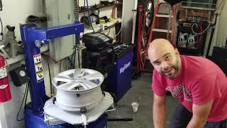 Mayflower 950 Tire Machine and balancer demo