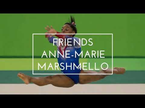 FRIENDS - Marshmello & Anne-Marie - Gymnastic floor music