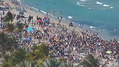 Spring Break 2020 on Ft Lauderdale Beach, Florida - 3/14/2020